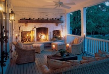outdoor living space love / by Anne Atwood Mead