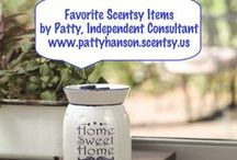 Favorite Scentsy Items by Patty, Independent Consultant / Sharing some of my favorite Scentsy items with you! / by Patty Hanson