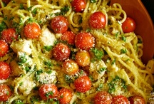 Pasta/Pasta Sauces/Noodles/Rice/Grain Dishes/Dumplings / Satisfaction for the starch-mouths among us...  like me / by Patricia Duffy