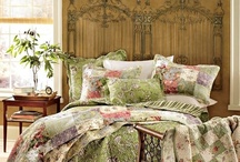 Bedding.....etc... / Everything to do with comforters, quilts, sheet sets, dust ruffles,end tables, all things that could be used in the bedroom.... / by Kathy Smith