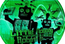 """Little Nobody Muzak / I've been making music as Little Nobody and Funk Gadget (along with about 20 other aliases) since 1996. These are some of the releases on CD, mp3 & 12"""" vinyl."""