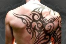 Traditional Tribal #tribaltattoos / Find awesome tribal #temporarytattoos as well as real inspirations here!