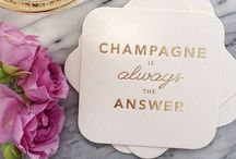Bubbly / Everything Champagne  / by Jennifer White