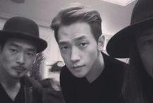 비 social, Rain! / Rain's personal social media posts (Twitter, Instagram, and Weibo).