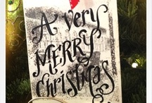 Merry Christmas / Wishing you a merry handmade holiday Christmas year-round!