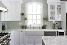 Kitchen Envy / Ohhh...to have endless funds and endless time to cook...or just sit and dream about these great inspirational kitchens!