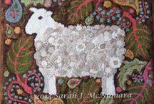 Wool & Fabulous Felt..... / by By The Bay Needleart