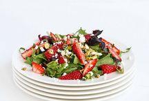 Charming eats // Summer salads