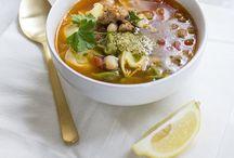 Charming eats // Soups