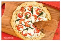 Pizza & Flatbread Recipes / Recipes for pizza and flatbreads from MyGourmetConnection and our favorite food bloggers, magazines and brands. / by MyGourmetConnection