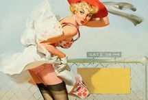 Pinup Girls / Who doesn't like pinup girls and vintage sexiness a golden era of sexuality ;)