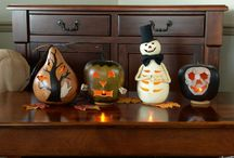 Our Gourds for Halloween / Handcrafted gourds for decorating you home for Halloween. / by Meadowbrooke Gourds