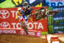 The ultimate balance of man & machine... / The toughest American sport... Motocross  / by Greg Melita