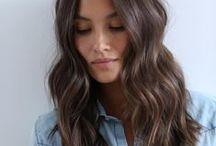 . hair .