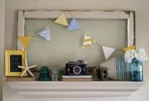 Mantel DIYs / by The Painted Home