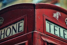 telephone boxes / by Janet Glyde
