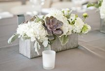 Centerpieces/Flowers / by Shannon Campbell