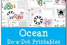 Ocean & Swimming Animals