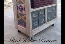 Redo / Furniture up cycled, painted and redone! / by Tricia Lee