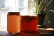 Kombucha / Kombucha is so full of antibiotics, I decided to use it as a home-remedy tonic and not as an everyday beverage as I once did. / by Connie Mertens
