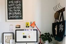 Office / Because I finally have a space dedicated to my office in my new home / by Chelcey Tate