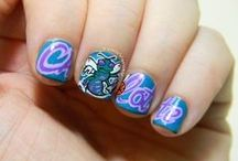 Purple and Teal Beauty / by Charlotte Hornets