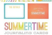"Free Printables ""Summer"""