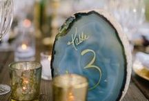boho glam wedding / as seen in The Knot