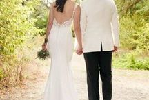 Low Back Gowns / Dramatic low back wedding gowns.