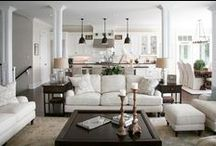 Warburton Living areas / Forever home, here we come. Inspiration for the new extension at Warburton.