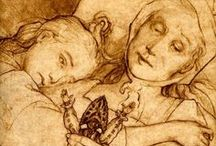 art, illustrations, vintage book illustrations, etchings, fairy tales, folklore / by ☆St. James Infirmary Blues☆