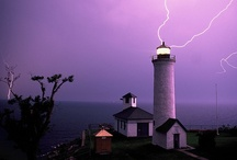 Lighthouses and Bible Verses / Lighthouses with Bible verse quotations