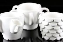 3D Printed Ceramics / The material is heat resistant (up to 600°C), recyclable, and currently the only food safe 3D printing material.