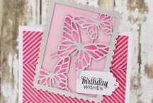 Die cutting Craft Inspiration / Projects by different crafters using the exclusive dies and embossing folders from the 2013 Big Shot Starter Kit and the  European collections that I designed for Sizzix.