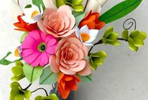 Flower making / Amazing projects and tutorials by super talented paper artists!