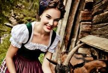 Black Forest, Dirndl, Grimm's fairy tales, bavaria, Austria, Swiss, milk maid, Oktoberfest  / by ☆St. James Infirmary Blues☆