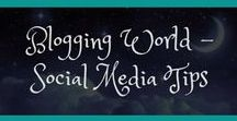 Blogging - Social Media Tips and Tricks / Who doesn't love being social? Check out these social media tips, tricks, cheatsheets, plans, schedulers and more to learn how to grow your social media following.