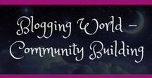 Blogging - Community Building / It's all about connecting with each other right? Check out these tips and tricks to grow your community and tribe to connect with others and grow your blog