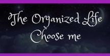 The Organized Life Choose Me / Feel like life is a whirlwind of constant chaos? Check out these tips, tricks, cheatsheets and Why Didn't I Think of That? to help you organize and manage your life.