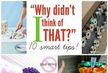 """Tips & Tricks for the HOME / Totally genius ideas to use around the home. Quite a few """"green-living"""" options! Handmade cleaning products + more!"""