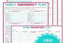 Emergency Preparation  / All things to prepare for an emergency.