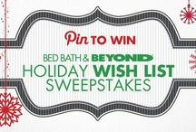 Holiday Wish List from Bed Bath & Beyond / by Teresa McDaniel