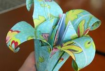 DIY - Fabric and Paper Flowers