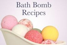 Bath Salts, Bath Products & Decanters / Homemade recipes