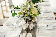CHWV ♥ Wedding Centrepieces / Inspiration for those all important table details.