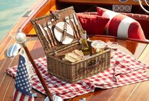 Summertime Get Togethers / Summertime food and decor for outdoor gatherings