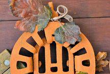 Junk ala Halloween / Junk Inspired Halloween Decor