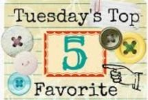 Tuesdays Top Five Favorite Junk Finds / A weekly artists celebration of artists and their works that inspire. @ http://uniquejunktique.com