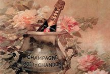 Champagne Wishes / All things Champagne Inspired, Art, photos, vintage postcards, recipes