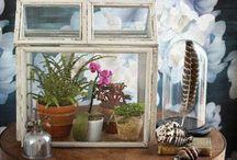 Tiny Garden Treasures / Tiny garden collection, Terrariums, small space and Fairy gardens